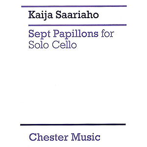 Kaija Saariaho: Sept Papillons For Solo Cello