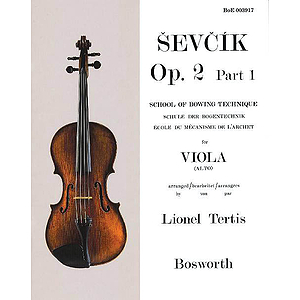 Sevcik for Viola - Opus 2, Part 1
