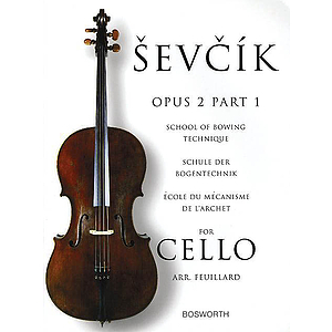 Sevcik for Cello - Opus 2, Part 1