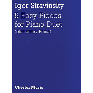 Igor Stravinsky: Five Easy Pieces
