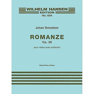 Johan Svendsen: Romance Op.26 (Violin or Viola/Piano)