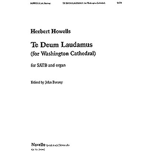 Herbert Howells: Te Deum (Buttrey/Washington)