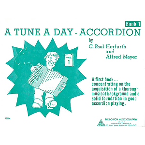 A Tune a Day - Accordion