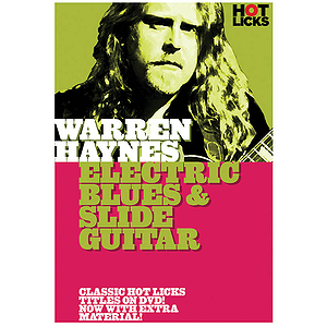 Warren Haynes - Electric Blues and Slide Guitar