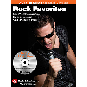 Rock Favorites - Audition Songs for Male Singers