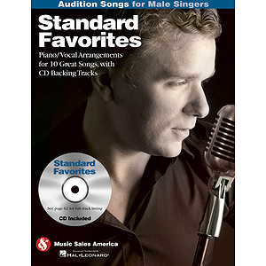 Standard Favorites - Audition Songs for Male Singers