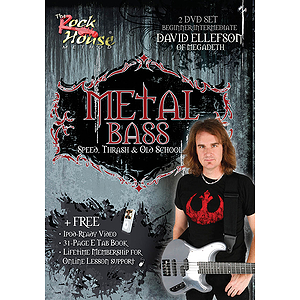 David Ellefson of Megadeth - Metal Bass (DVD)
