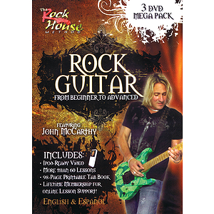 Rock House Rock Guitar Mega Pack (DVD)