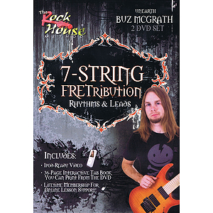 Rock House 7-String Fretribution (DVD)