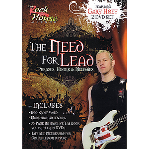 Gary Hoey - The Need for Lead (DVD)