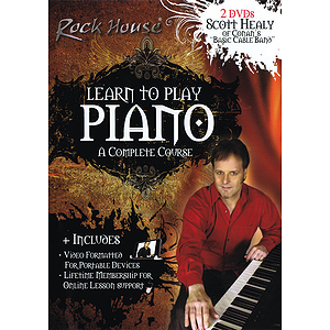 Scott Healy of Conan&#039;s Basic Cable Band - Learn to Play Piano (DVD)
