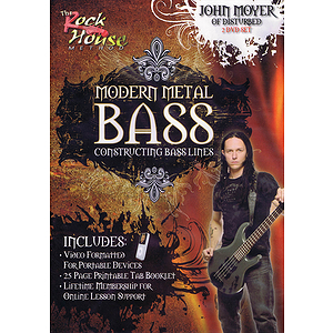 John Moyer of Disturbed - Modern Metal Bass (DVD)