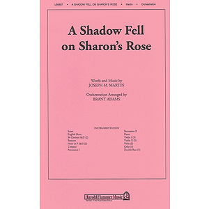 A Shadow Fell on Sharon's Rose (from Colors of Grace)