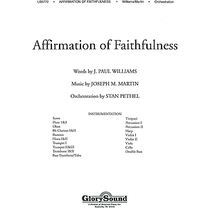 Affirmation of Faithfulness