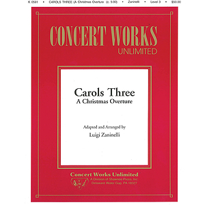 Carols Three - A Christmas Overture