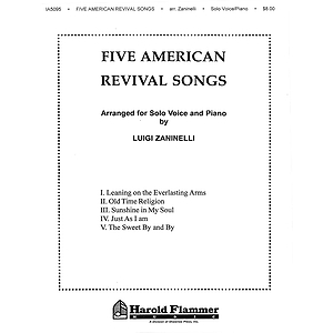 Five American Revival Songs Voice (1 Book)