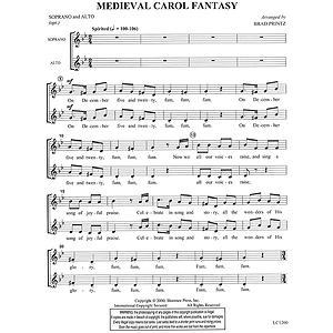 Medieval Carol Fantasy