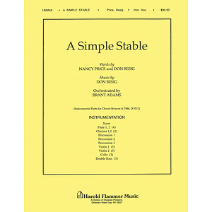 A Simple Stable (from The Wondrous Story)