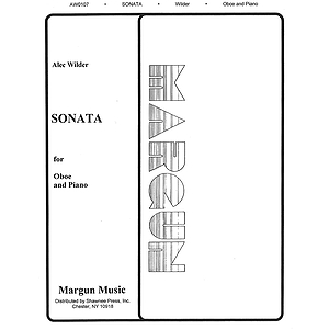 Alec Wilder: Sonata For Oboe And Piano