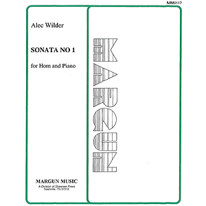 Alec Wilder: Sonata No 1 For Horn And Piano (New)