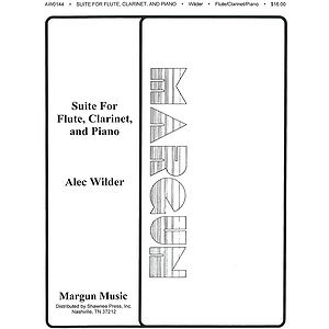 Alec Wilder: Suite For Flute, Clarinet And Piano