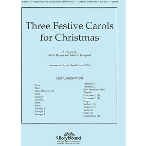 Three Festive Carols for Christmas