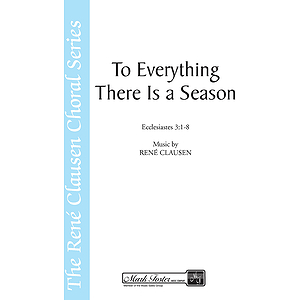 To Everything There is a Season SATB/Oboe