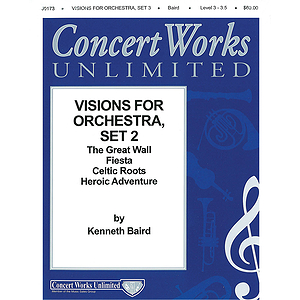 Visions for Orchestra Series - Set III