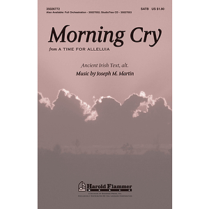 Morning Cry (from A Time for Alleluia!)
