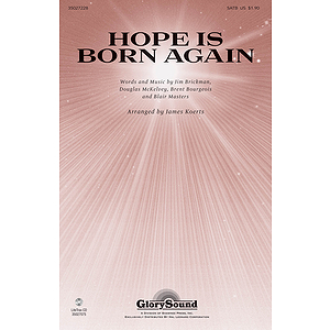 Hope Is Born Again