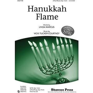 Hanukkah Flame