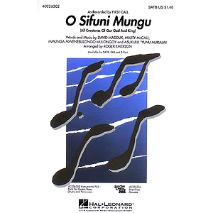 O Sifuni Mungu