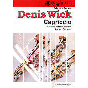 Capriccio For Brass Quintet Score And Parts