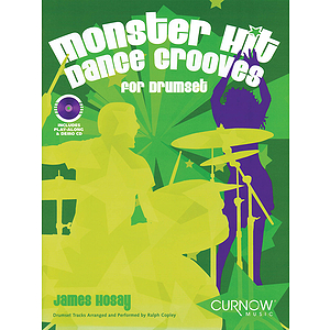 Monster Hit Dance Grooves Drums Bk/cd Intmed