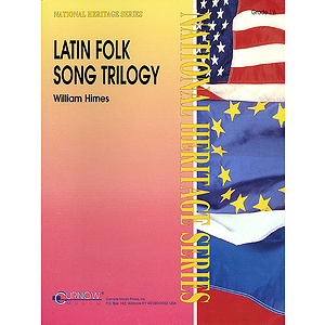 Latin Folk Song Trilogy (score)
