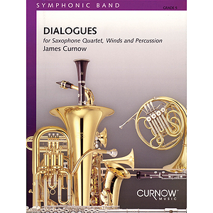 Dialogues (Sax Quartet with Concert Band)