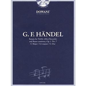 Handel: Sonata in C Major, Op. 1, No. 7 for Treble (Alto) Recorder and Basso Continuo