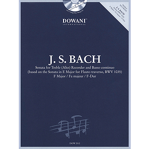 Bach: Sonata for Treble (Alto) Recorder and Basso Continuo in F Major
