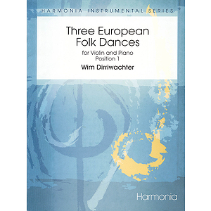 Three European Folk Dances