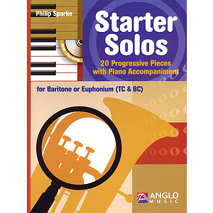 Starter Solos for Baritone or Euphonium (TC & BC)