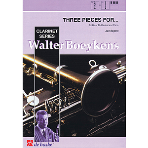 Three Pieces For B Flat E Flat Clarinet And Piano 3 Pieces