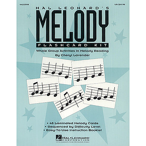 Hal Leonard's Melody Flashcard Kit