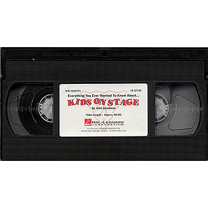Kids on Stage (Staging & Choreography Resource) (VHS)