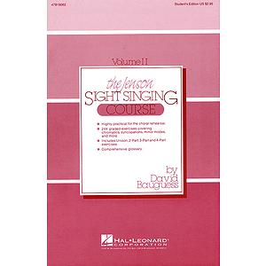 The Jenson Sight Singing Course (Vol. II)