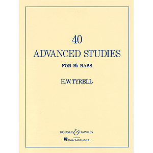 40 Advanced Studies for Bb Bass Tuba