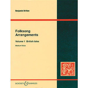 Folksong Arrangements - Volume 1: British Isles