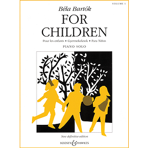 Bartók - For Children, Volume 1