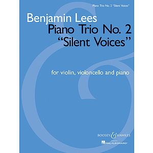 Piano Trio No. 2 Silent Voices