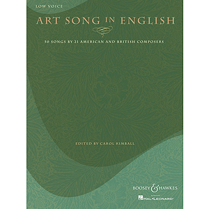 Art Song in English - 50 Songs by 21 American and British Composers