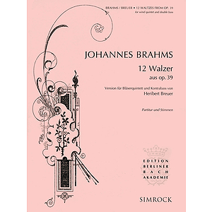 12 Waltzes from Op. 39